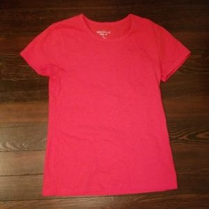 NWOT JCrew Mercatile Bright Red T-Shirt